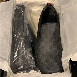 Gucci men's dress shoes Black Dublin slip-on